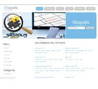 Sitopolis est un annuaire automatique de sites Internet classés par catégories comportant une interview du référenceur.